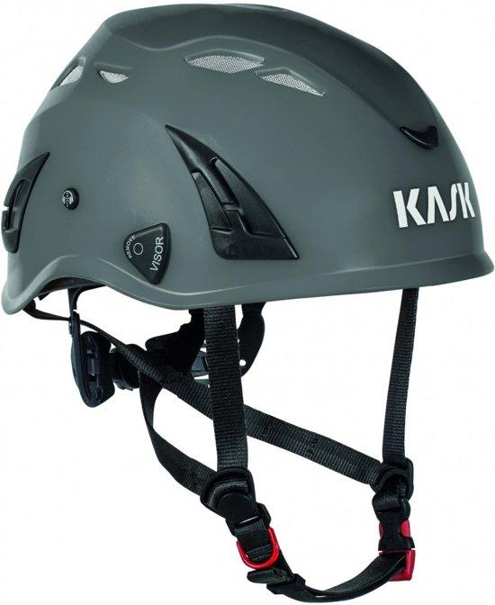 Kask Superplasma PL industriële helm met Sanitized-technologie Hi-Viz Wit