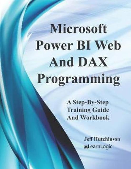 Microsoft Power BI Web And DAX Programming