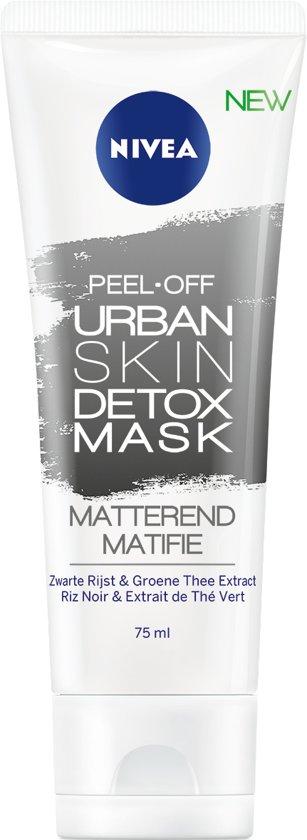 NIVEA Urban Skin Peel-of Detox Mask - Gezichtsmasker -75 ml