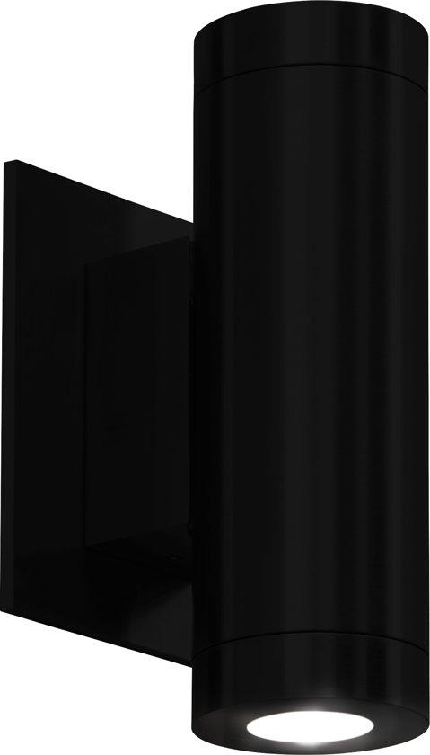 Stone base - Silo 18 Zwart - Wandlamp