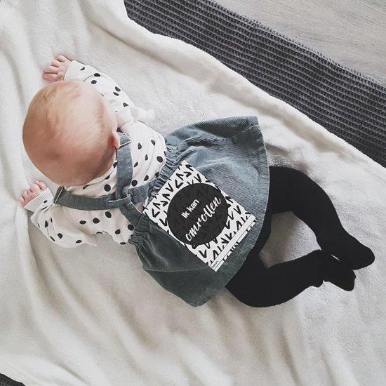 Mijlpaalkaarten baby's eerste jaar | Zwart & Wit