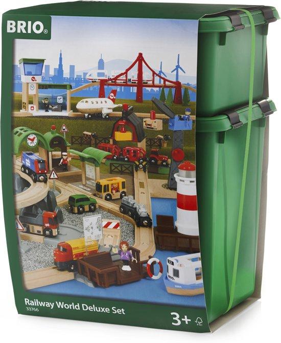 BRIO Railway World Deluxe Treinset 33766