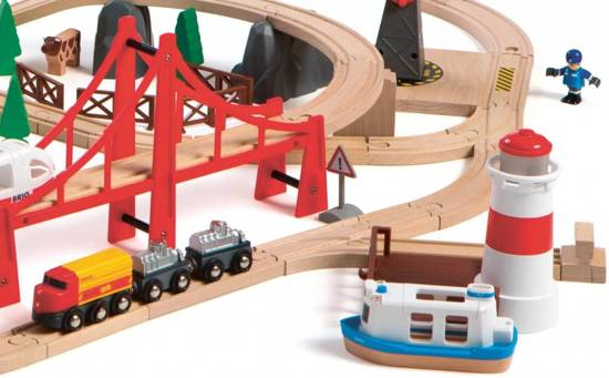 BRIO Railway World Deluxe Treinset 33766
