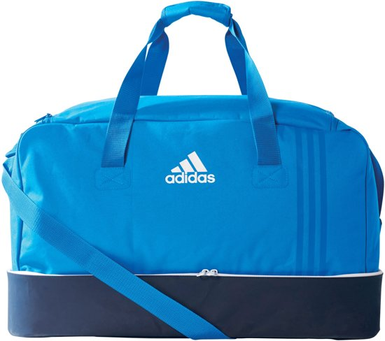 f5aec708915 bol.com | adidas SporttasKinderen en volwassenen - blauw/wit