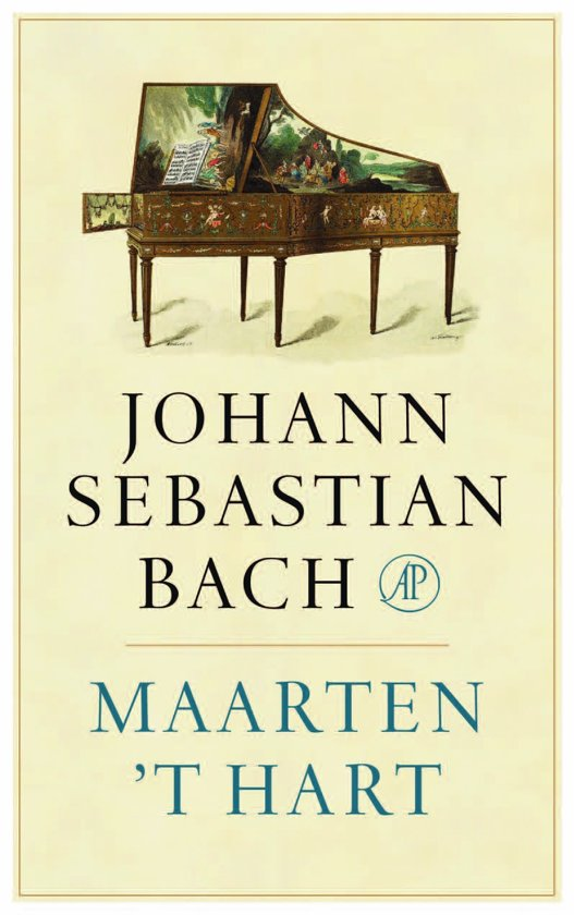 Boek cover Johann Sebastian Bach van Maarten t Hart (Paperback)