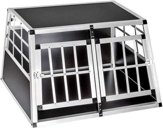 Autokennel honden Bench Hondenbench - 89x69x50 cm - Aluminium