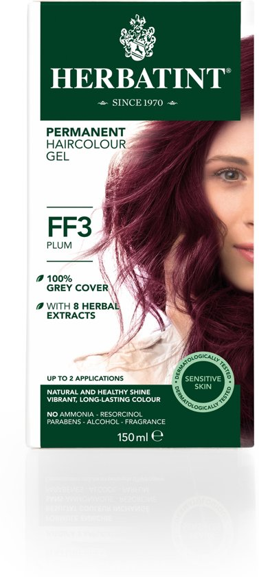 Herbatint FF3 Flash Fashion Plum (150 milliliter)
