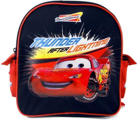 CARS Race-o-Rama Thunder after Lightning Mcqueen Rugzak Peuter Kleuter School tas
