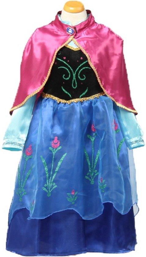 ec36f8be19a535 Frozen kleed prinses Anna met cape 116 122