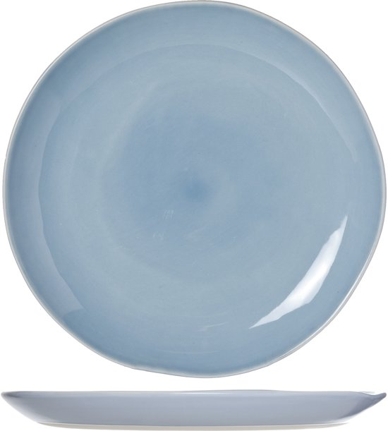 Cosy&Trendy Sublim Dinerbord - Ø28.5 cm - Blue - 3 stuks