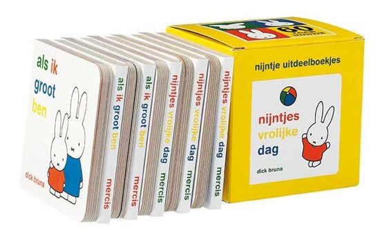 Boek cover Nijntje uitdeelboekjes (box met 10 boekjes) van Dick Bruna (Onbekend)