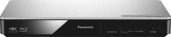 Panasonic DMP-BDT185EG DVD/Blu-ray-speler Blu-Ray speler 3D Zilver