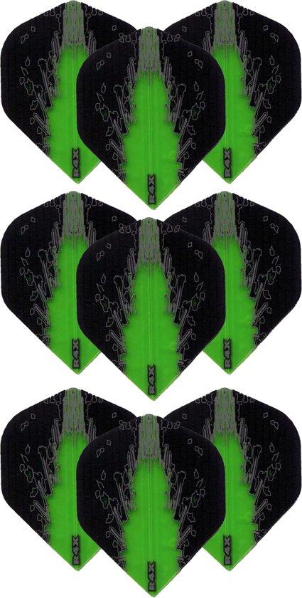 Dragon Darts – High Impact – 3 sets (9 stuks) – darts flights – Best Getest - Groen