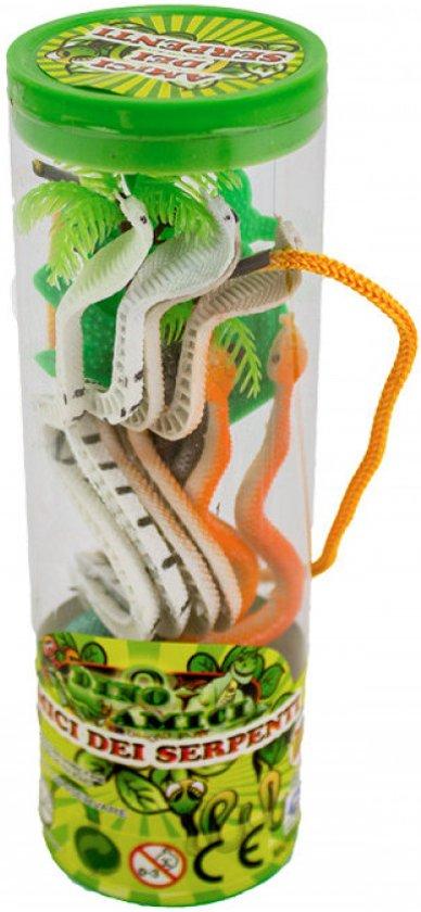 Dieren in koker 17cm Slangen
