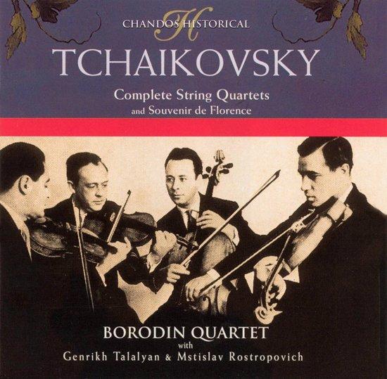 Tchaikovsky: Complete String Quartets etc / Borodin Quartet et al