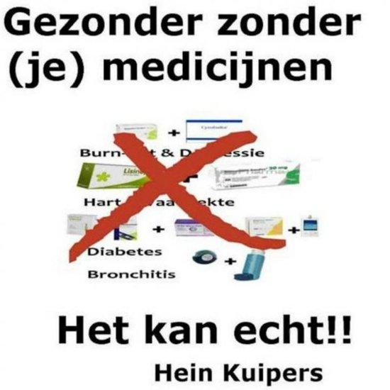 Gezonder zonder (je) medicijnen