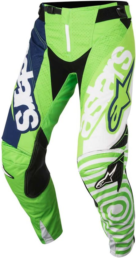 Venom Kinder Techstar Green Alpinestars Crossbroek dark Fluor white 28 Blue dxCBroe
