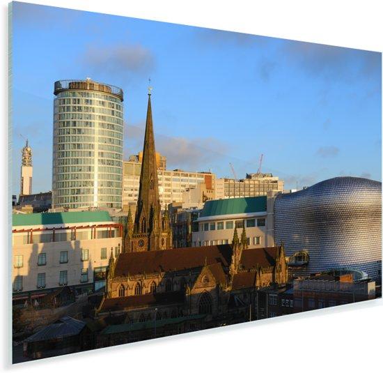 Prachtige stadsfoto van Birmingham in het graafschap West Midlands Plexiglas 90x60 cm - Foto print op Glas (Plexiglas wanddecoratie)