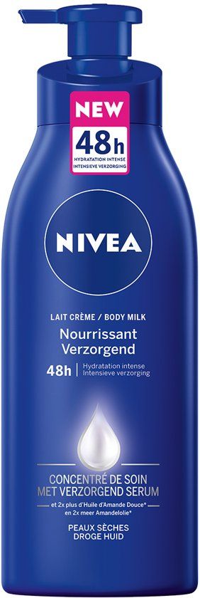 NIVEA Verzorgend Serum Amandelolie Body Milk - 400 ml