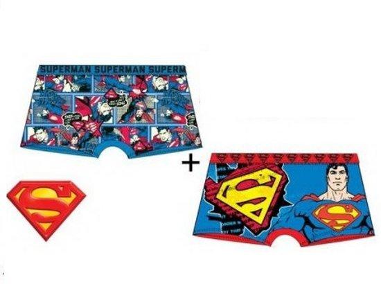 Superman boxershort set 4/5 jaar pack 2