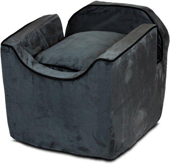 Snoozer Lookout - Autostoel - Autozitje voor honden - Medium 56cm - Antraciet