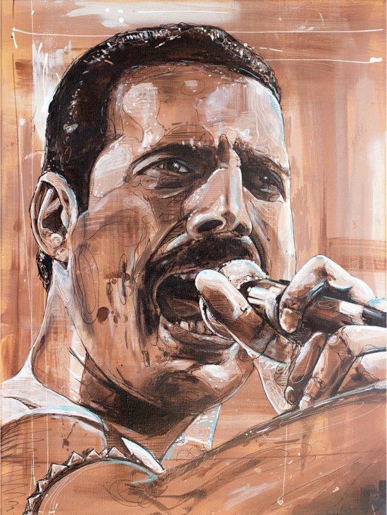 Freddie Mercury canvas (40x60cm)