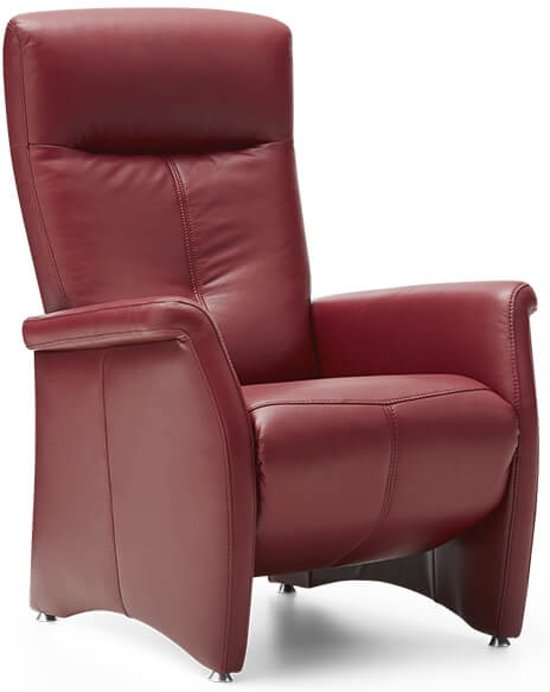 Relax Fauteuil Rood.Bol Com Relaxfauteuil Amadeo Leer Rood