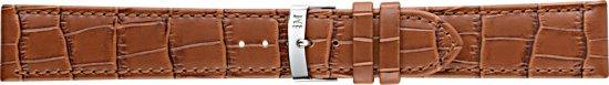 Morellato PMX041JUKE PC horlogebandje - Leer - Bruin - 22 mm