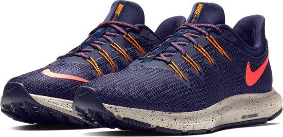 Nike Quest Se Sportschoenen Dames - Blackened Blue/Flash Crimson-B - Maat 42.5