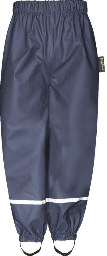 Playshoes - Regenbroek met Fleece voering voor kinderen - Donkerblauw
