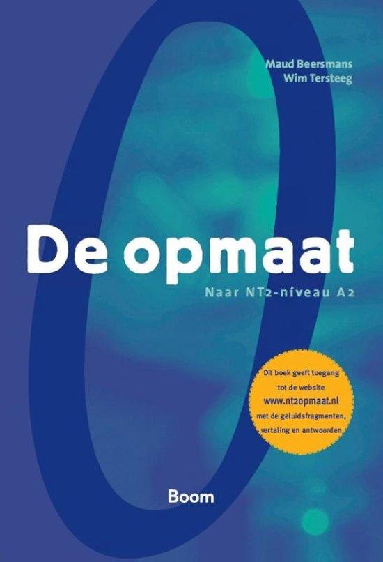 Boek cover De opmaat van Maud Beersmans (Paperback)