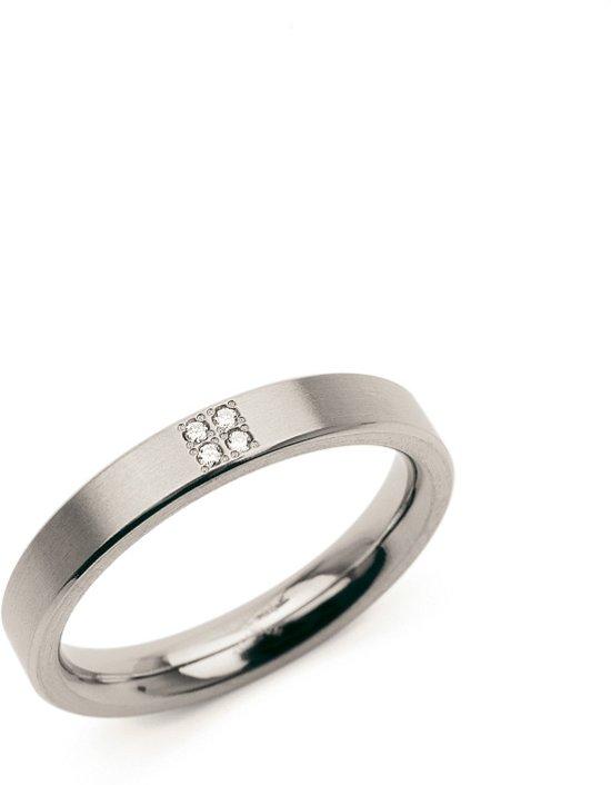 Boccia Titanium 0120-01 Ring - Titanium - Zilverkleurig