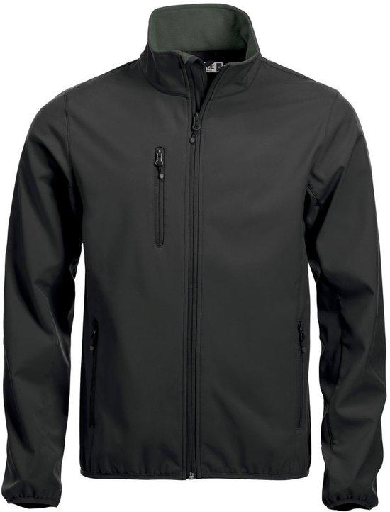 Clique Basic Softshell jacket heren zwart xs
