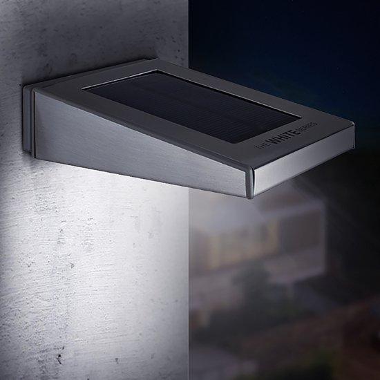 de roestvrijstale draadloze led solar buiten verlichting bespaart energie is gemakkelijk te installeren en geeft enorm veel licht