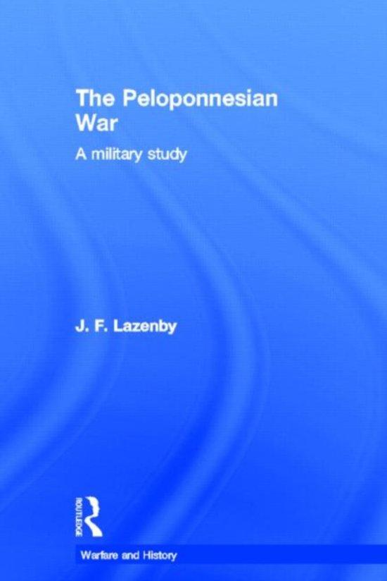 an essay about the peloponnesian war