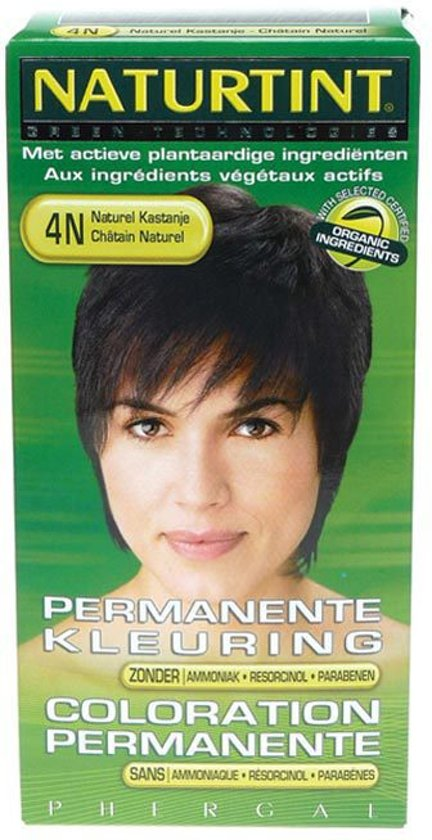 Naturtint 4N - Intense Naturel Kastanje - Haarverf