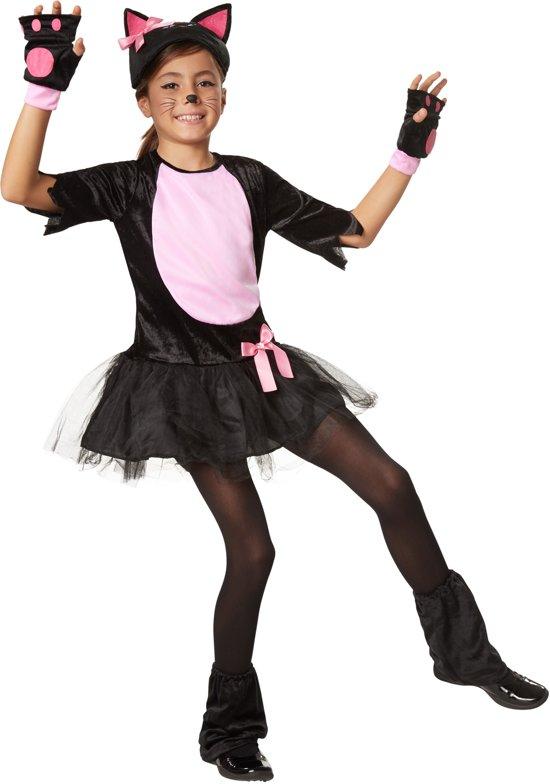dressforfun 302101 Roos Katje voor kinderen 128 (7-8 jaar) verkleedkleding kostuum halloween verkleden feestkleding carnavalskleding carnaval feestkledij partykleding