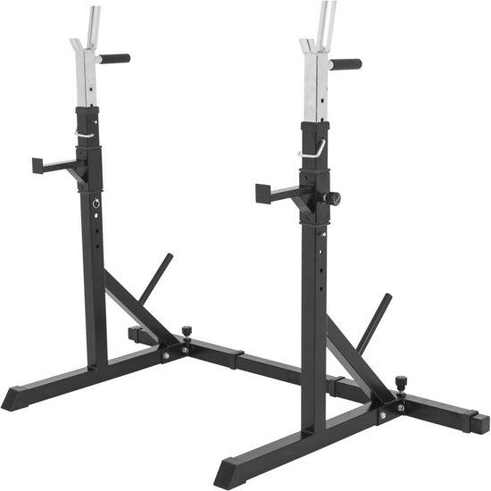Betere bol.com | Gorilla Sports Squat / Bankdruk Rack verstelbaar met XM-48
