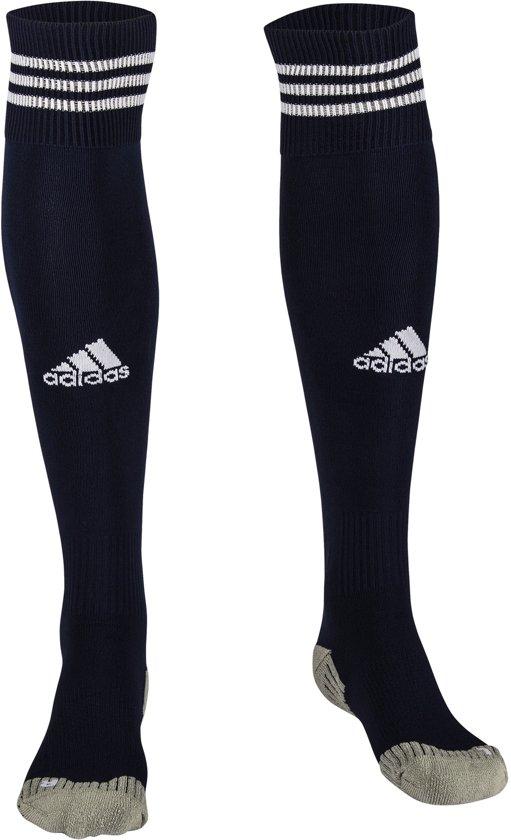 Adidas Sportsokken blauw/wit - maat 40-42/M