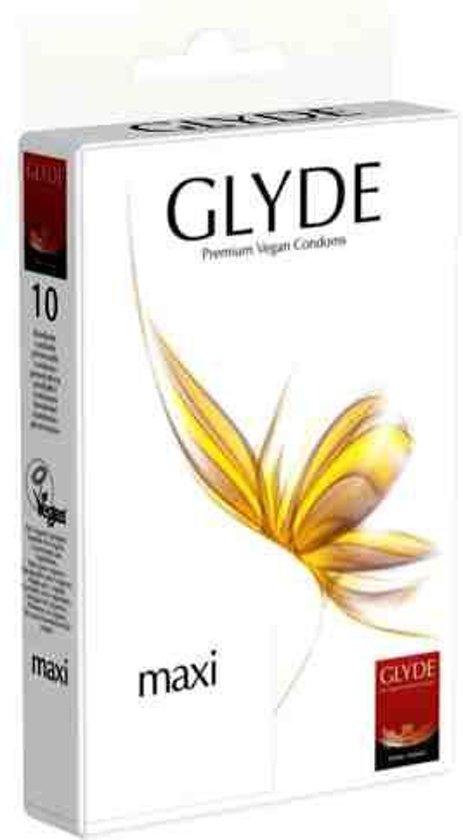 Glyde Ultra Maxi - 10 stuks - Condooms