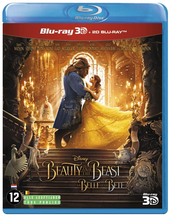 DVD cover van Beauty and the Beast (3D+2D Blu-ray)