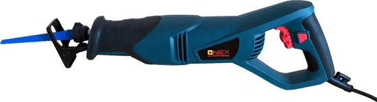 ONEX Reciprozaag - 1150 Watt - Met 3 zaagbladen - OX-1086