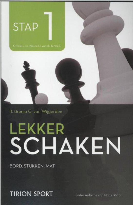 Lekker schaken stap 1 bord/stukken/mat