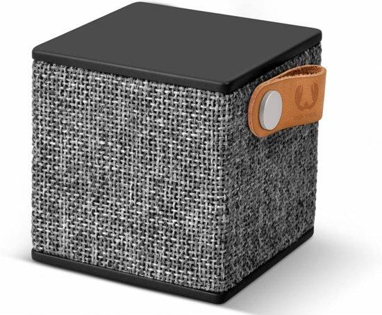Fresh 'n Rebel Rockbox Cube Fabriq - Draadloze Bluetooth Speaker - Grijs