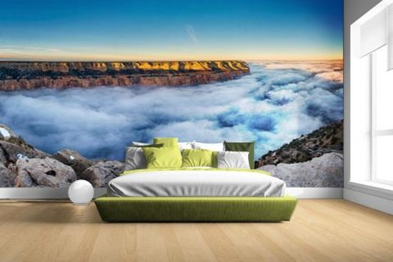 FotoCadeau.nl - Wolk Grand Canyon bij zonsopgang Fotobehang 380x265
