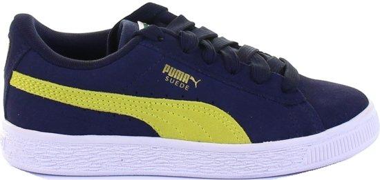 e1cf7a14d43 bol.com | Puma Jongens Sneakers Suede Classic Jr - Blauw - Maat 36