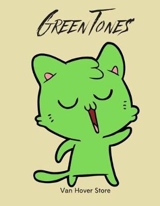 Green Tones: Blank Sheet Music Standard Manuscript Paper / Music Manuscript Paper / Staff Paper / Musicians Notebook [ Book Bound (