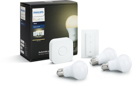 Philips Hue White - Starterkit - E27