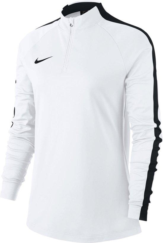 Nike Dry Academy 18 Drill Longsleeve  Sportshirt performance - Maat M  - Vrouwen - wit