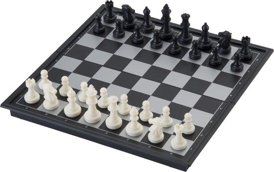 Thumbnail van een extra afbeelding van het spel Longfield Games Schaakspel Magnetisch/Opklapbaar
